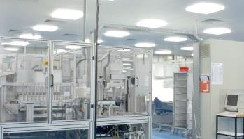 Illustration of a cleanroom manufacturing sfm medical devices GmbH